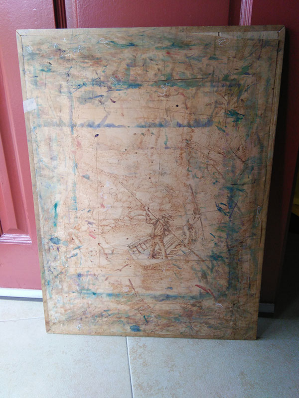 Old Drawing Board Front